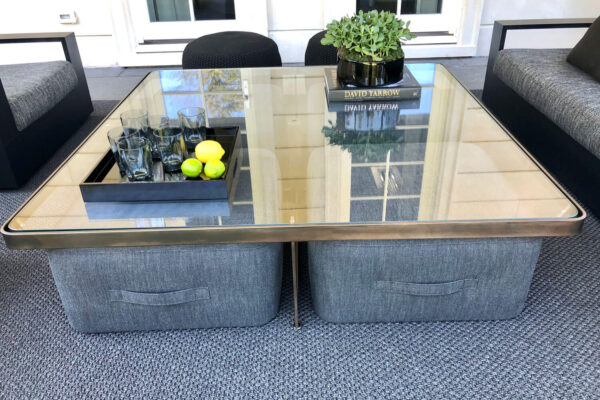 04-5-Square-coffee-table-metal-frame-glass-top-nesting-ottomans
