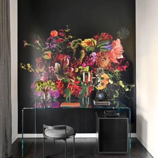 11-home-office-custom-wall-paper-glass-desk